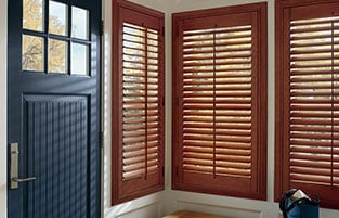 Best quality motorized shades or wood shutters in san diego are made locally with poplar wood