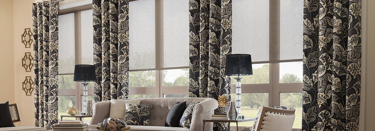 home decorating ideas living room window treatments