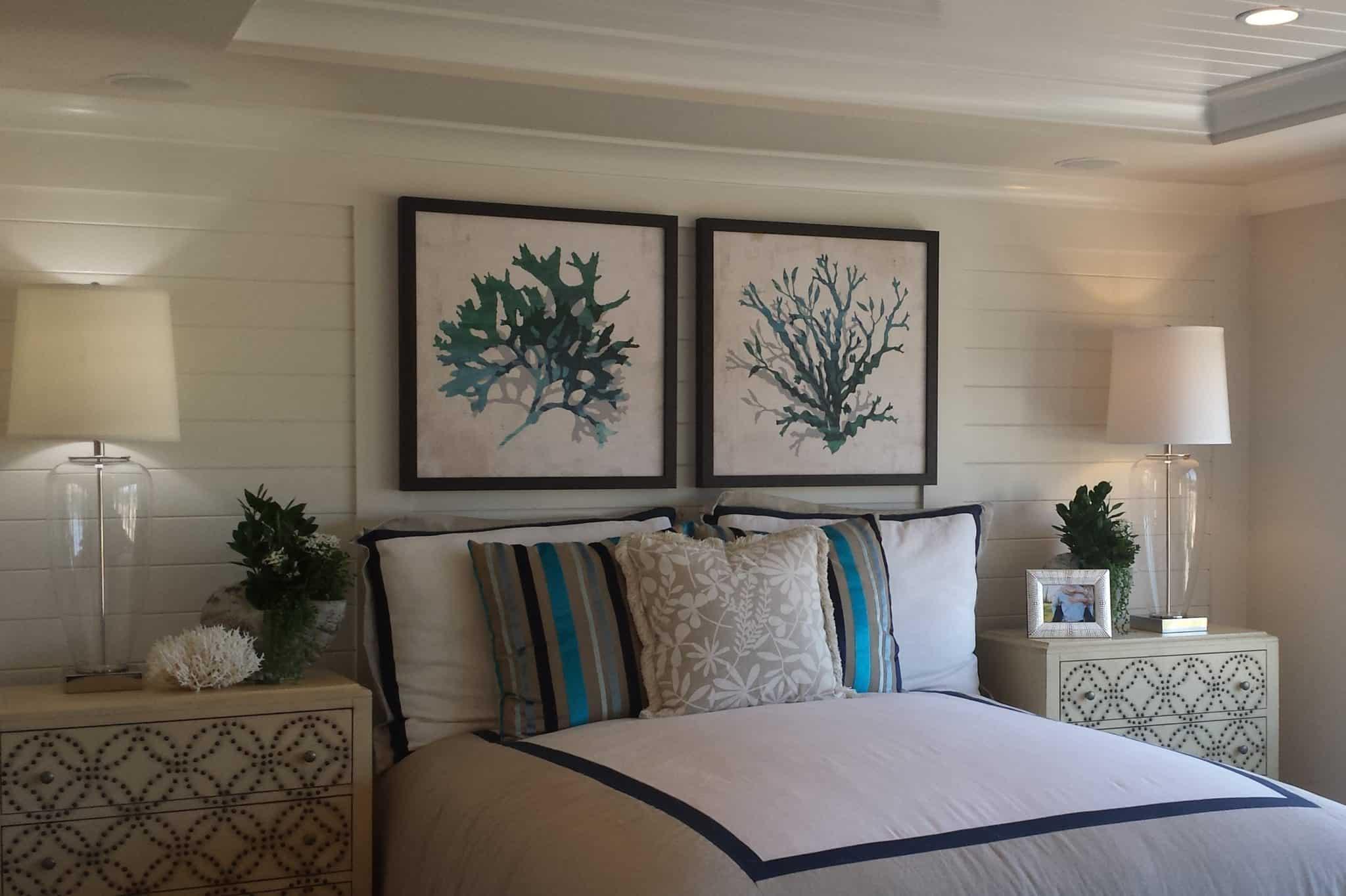 San Marcos custom bedding style