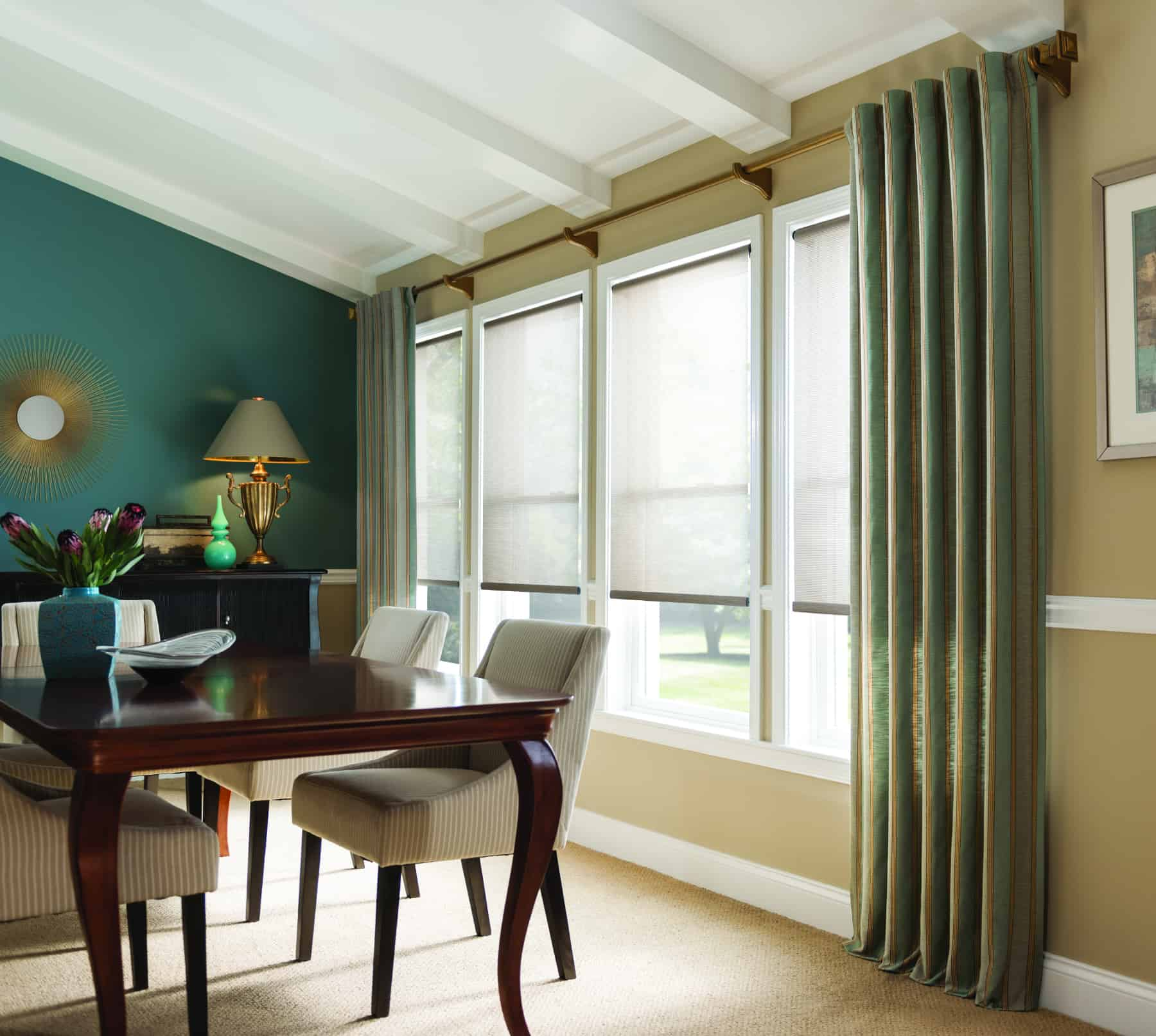 The benefits of custom draperies and curtains 7 sisters for Custom window treatments
