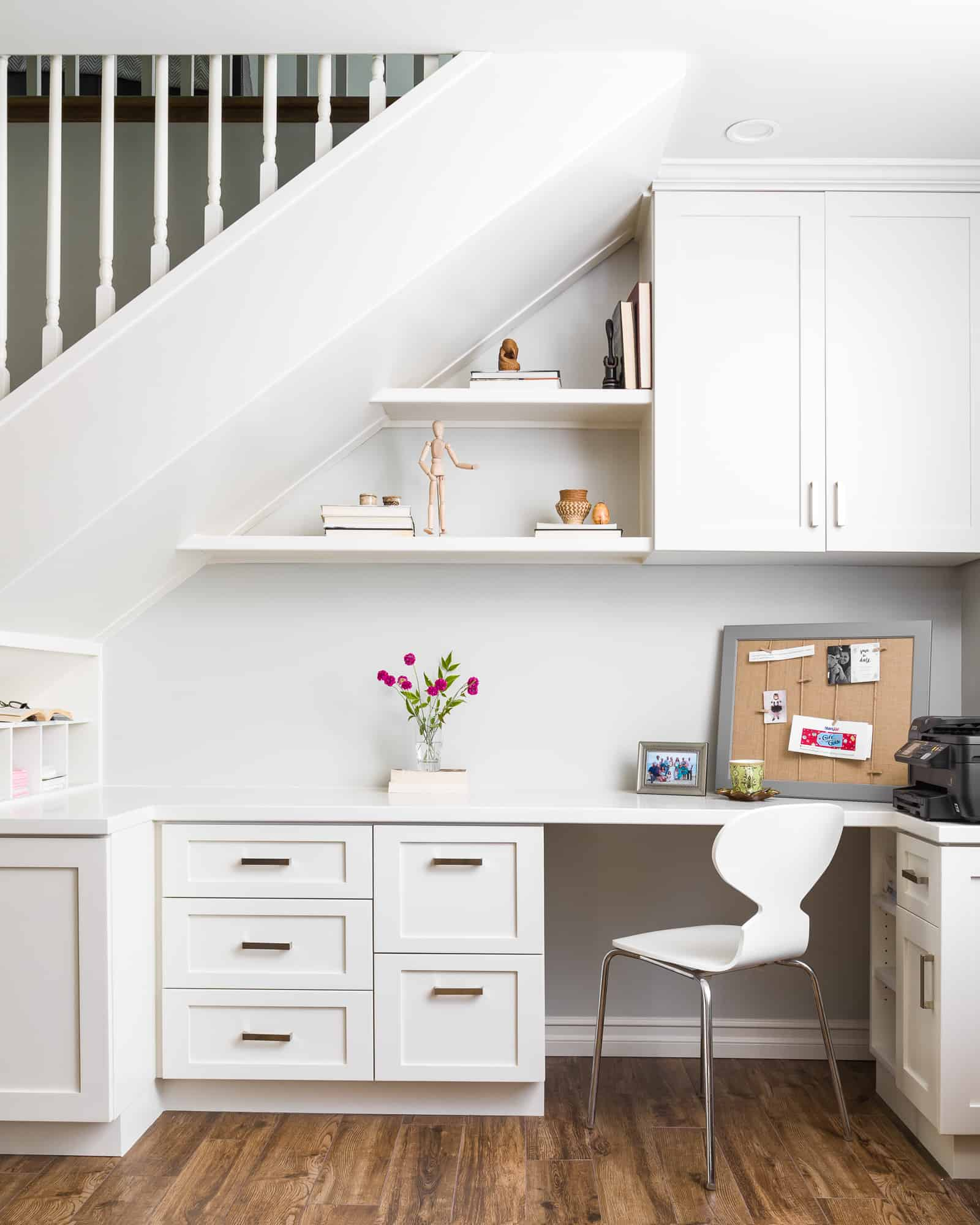 Office Under The Stairs 7 Sisters Interiors Design Work